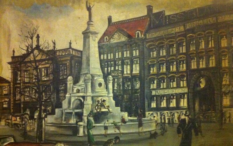 Schilderij uit de jaren '30 (kunstenaar onbekend)