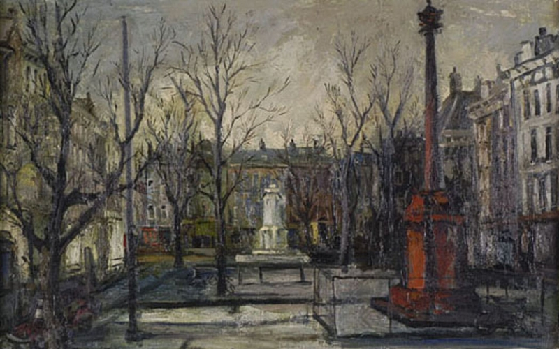 Schilderij van Wim Chabot uit 1960