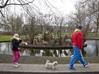 Karolien Helweg & Ruben La Cruz, Amelandseplein 01 - foto Otto Snoek